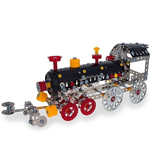 12 Long Metal Train Model Kit 353 Pieces