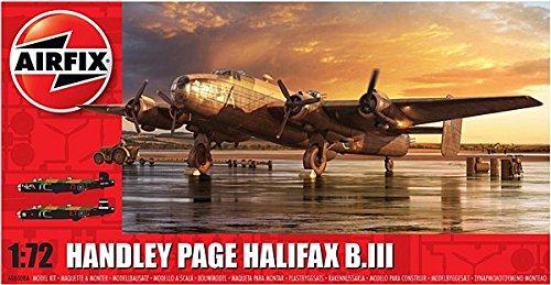 Airfix A06008A Handley Page Halifax B MkIII 172 Plastic Model Kit