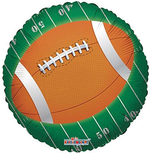 Kaleidoscope Round Football Foil Mylar Balloons 5 Piece