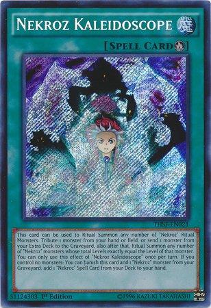 Yu-Gi-Oh - Nekroz Kaleidoscope THSF-EN021 - The Secret Forces - 1st Edition - Secret Rare