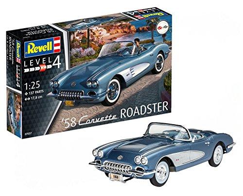 Revell Germany 07037 58 Corvette Roadster Model Kit Model Building Kit