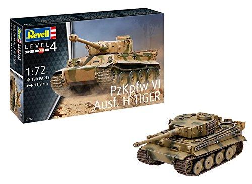 Revell Gmbh 03262 Pzkpfw VI Ausf H Tiger Tank Model Kit 1 72 Scale