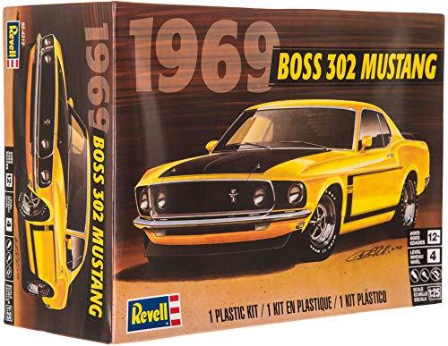 Revell Plastic Model Kit-69 Boss 302 Mustang 125