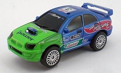 Bluegreen Sedan Style Slot Car Racing 143 Scale