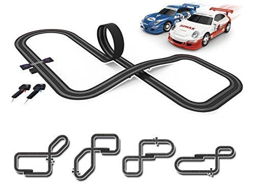 SCX Slot Cars Compact Loopinator Set