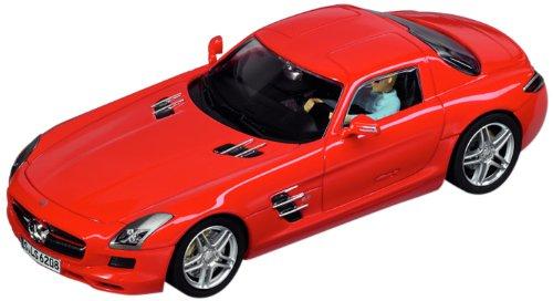 Carrera Digital 132 132 Mercedes SLS AMG Coupe Slot Car Red