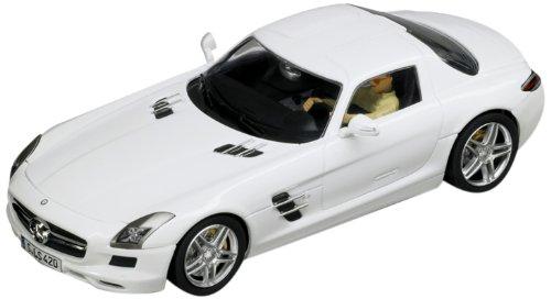 Carrera Digital 132 132 Mercedes SLS AMG Coupe Slot Car White