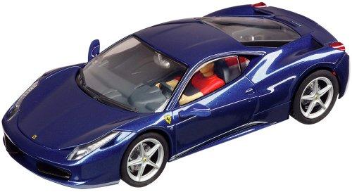 Carrera Digital 132 Slot Cars - Ferrari 458 Italia - Blue 30566
