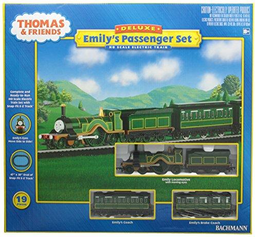 Bachmann Trains Emilyâ€s Passenger Set Ready-to-Run HO Train Set