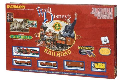 Bachmann Trains Walt Disneys Carolwood Pacific Railroad Ready-to-Run HO Train Set