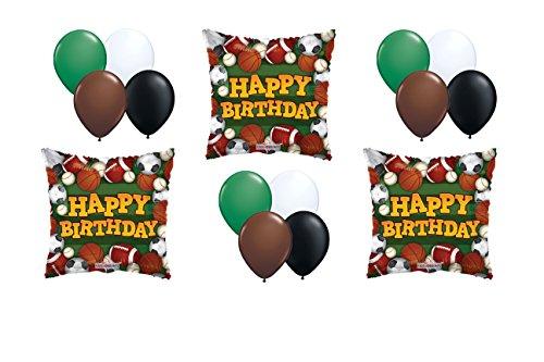 Happy Birthday Sports Deluxe Balloon Bouquet