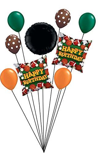 Happy Birthday Sports Outdoors Balloon Bouquet