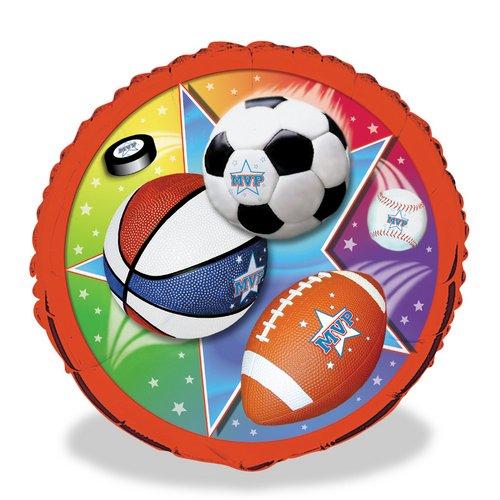 Super Sports 18 Foil Balloon