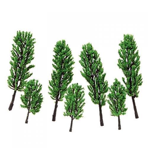 Model Pine Tree Train Set Scenery Landscape HO - 16PCS by HYTNUQRHYBNQQ