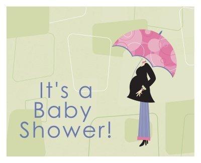 Mod Mom Baby Shower Invitations 8ct