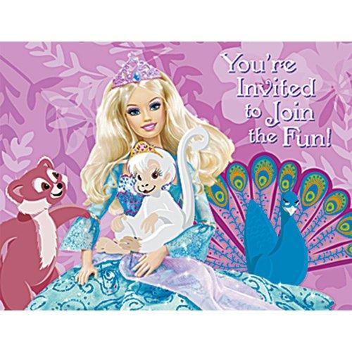 Barbie Island Princess Invitations