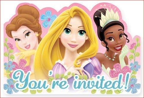 Disney Princess Invitations by Disney