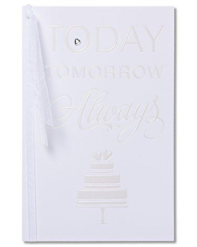 American Greetings Today Tomorrow Always Wedding Card