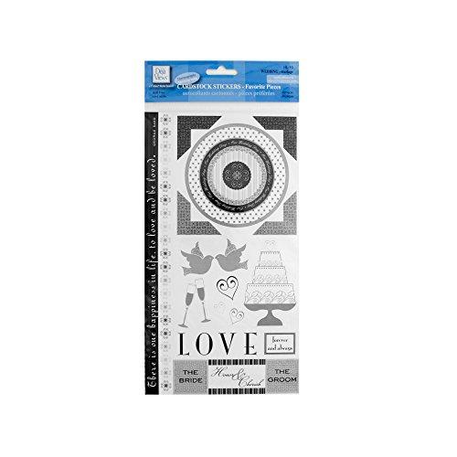 bulk buys Wedding Cardstock Stickers