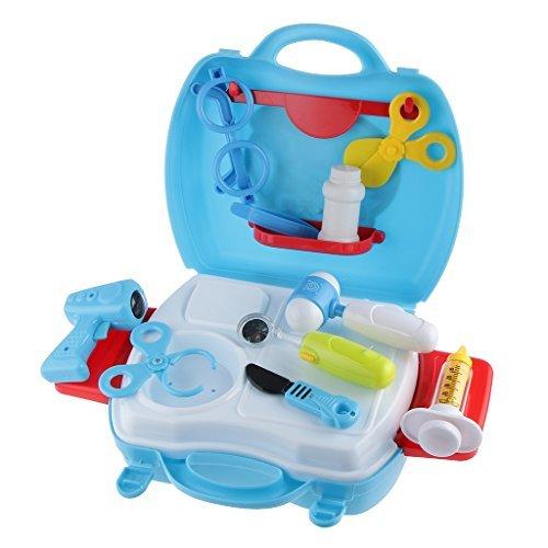 No brand goods 18pcs doctor nurse medical tool kit play set Childrens play toys