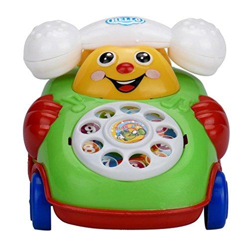 VESNIBA Educational Toys Cartoon Smile Phone Car Developmental Kids Toy Gift
