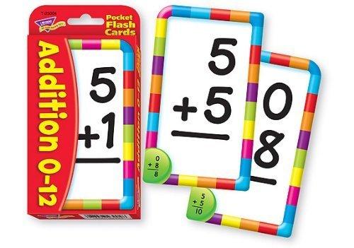Addition Pocket Flash Card Game by Trend Enterprises Inc
