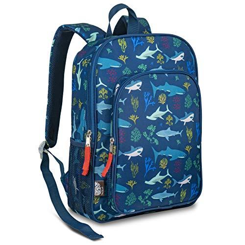 LONECONE Kids School Backpack for Boys Girls - Sized for Kindergarten Preschool - Shark School