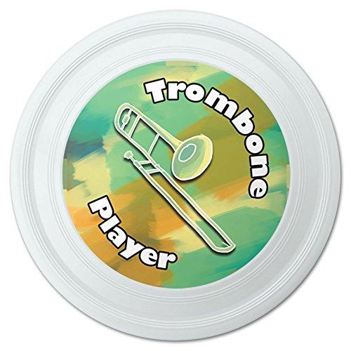 Trombone Player Band Instrument Brass Novelty 9 Flying Disc