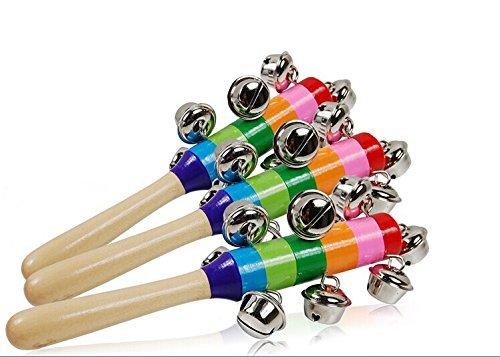 Musuntas Musical Bell Stick - Wooden Musical Instrument 2PCS by Musuntas