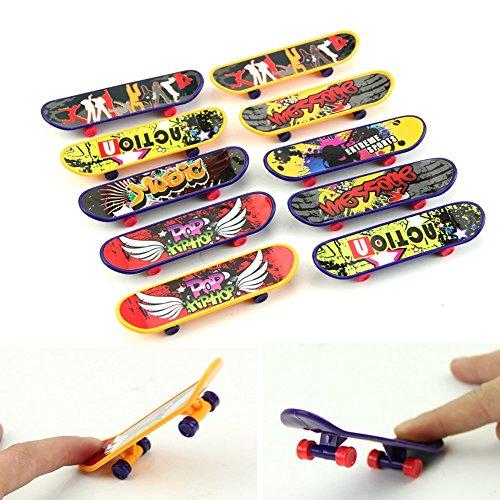 Mimgo Store 1Pc Mini FingerboardsSkateboard Toy Boy Kids Children Gift Random Pattern