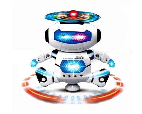 Kids Children Electronic Walking Dancing Smart Space Robot Astronaut Kids Music Light Toys