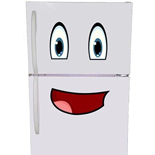 Mr Fridge Smiley Face Magnet Set - Refrigerator Magnets for Kids Magnetic Room Decor for Fridge Kitchen Decor