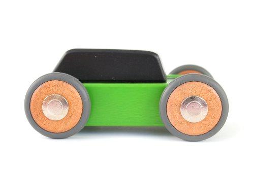 15 Piece Tegu Hatch Magnetic Wooden Block Car
