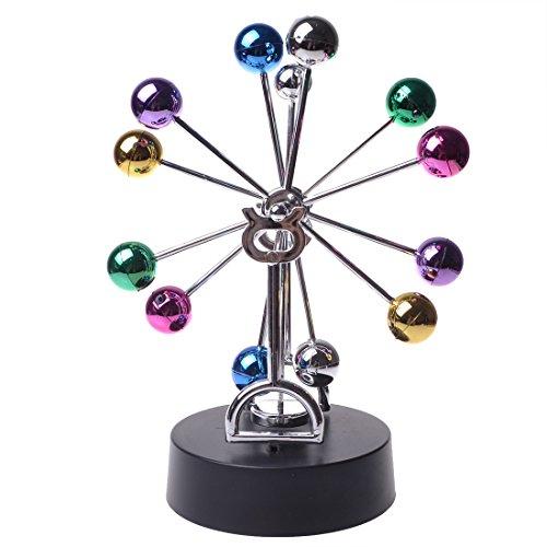 GOTOBUYWORLD Creative Gift Colorful Electronic Magnetic Swing Ball-2