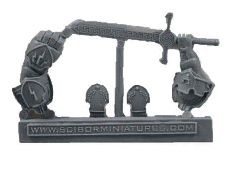 28mm Miniature Conversion Parts Roman Weapon 2
