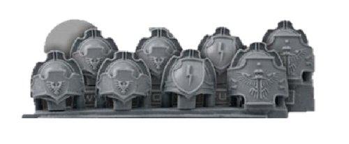 28mm Miniature Conversion Parts SF Shoulder Pads 1 8