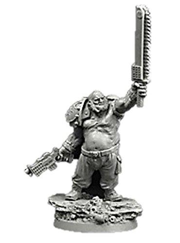 28mm Miniatures SF Ogre Cossack 1 Ogryn