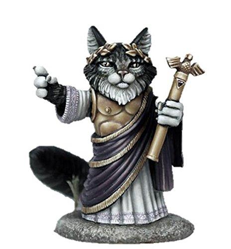 Dark Sword 28mm Miniature Visions in Fantasy Augustus Tribute - Emperor Cat