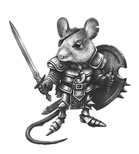 Dark Sword 28mm Miniature Visions in Fantasy Mouse Warrior