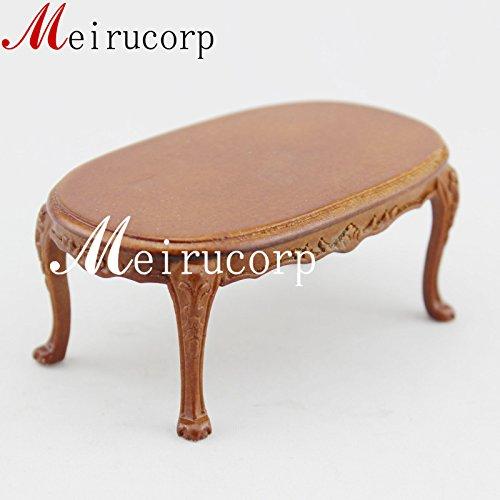 Fine 112 Scale Dollhouse Miniature Furniture Elegant Hand Carving Tea Table