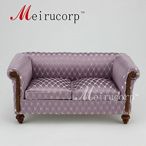 Fine 112 scale dollhouse miniature furniture Elegant living room sofa
