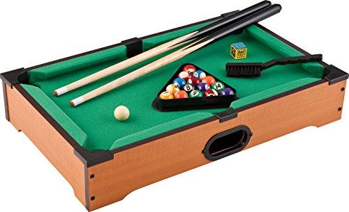 Mainstreet Classics 20-Inch Table Top Miniature BilliardPool Game Set