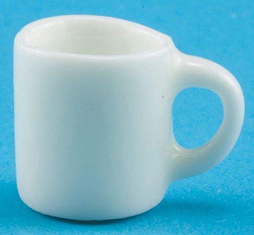 Dollhouse Miniature 112 Scale White Ceramic Coffee Mug