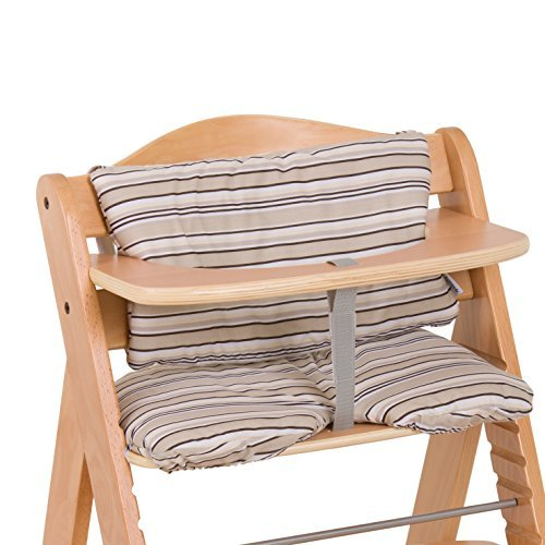 Hauck Alpha Padded Highchair Seat Cushion - Beige by Hauck