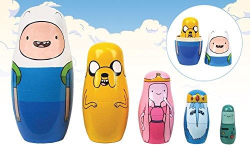 Adventure Time Wood Nesting Dolls - Set of 5