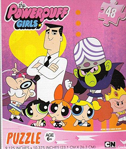 The Powerpuff Girls - 48 Piece Jigsaw Puzzle - v 3