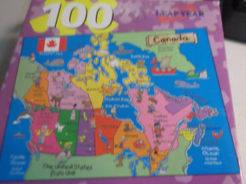 100 Piece Canada Puzzle