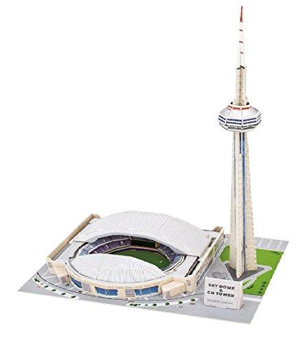 Canadas National Tower 3D Puzzle Building Set - Canada Puzzle Set - DIY PUZZLE PLAY SET