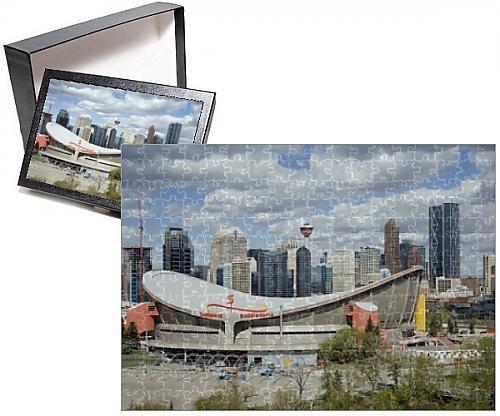 Photo Jigsaw Puzzle of City skyline Calgary Alberta Canada North America
