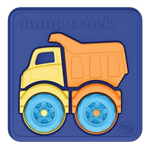 Green Toys Dump Truck Puzzle 4 Piece